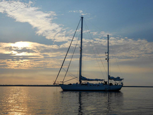 Used Shannon sail Cruiser Sailboat For Sale