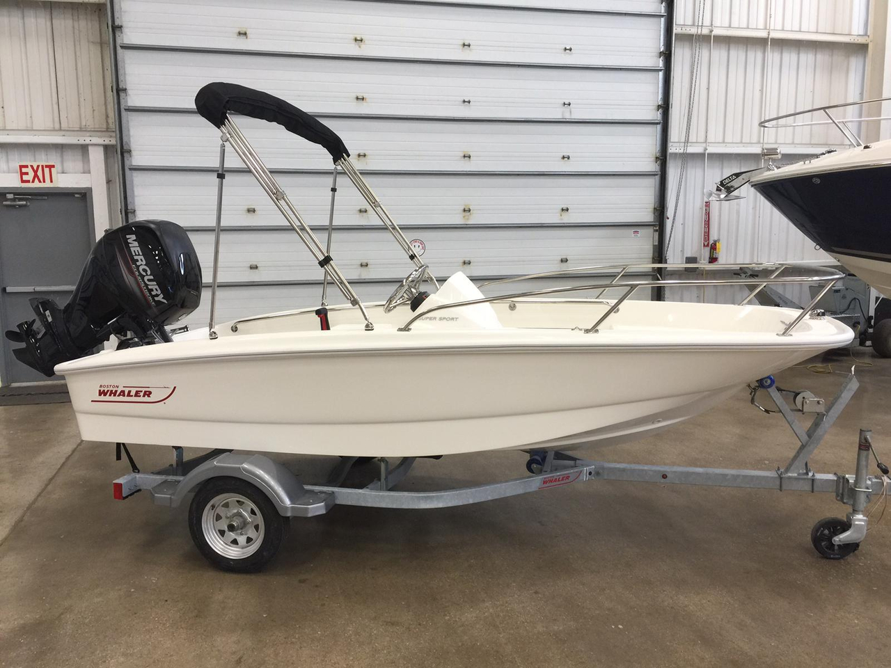 2016 new boston whaler 130 super sport sports fishing boat for Fishing boats for sale in michigan