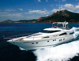 Used Fairline Squadron 74 Motor Yacht For Sale