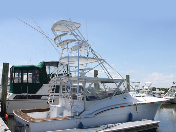Used Desanti Custom Express Sports Fishing Boat For Sale