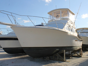 Used Pacemaker Flybridge Boat For Sale