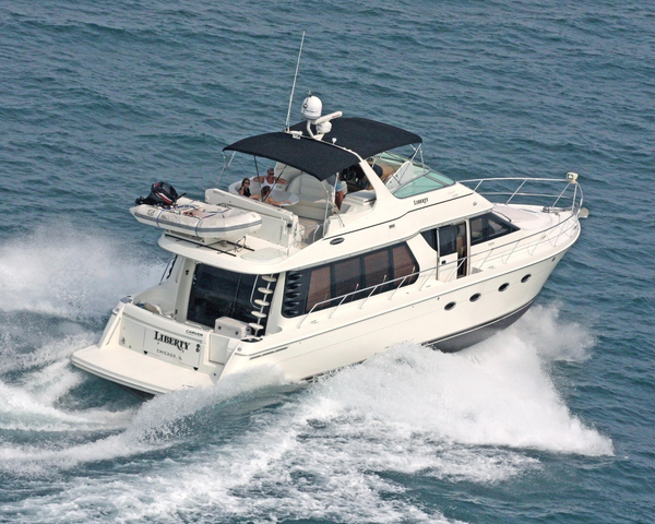 Used Carver 570 Voyager Pilothouse Cruiser Boat For Sale