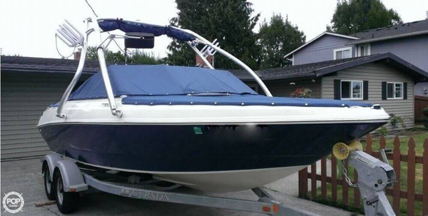 Used Larson 2150 LX Bowrider Boat For Sale