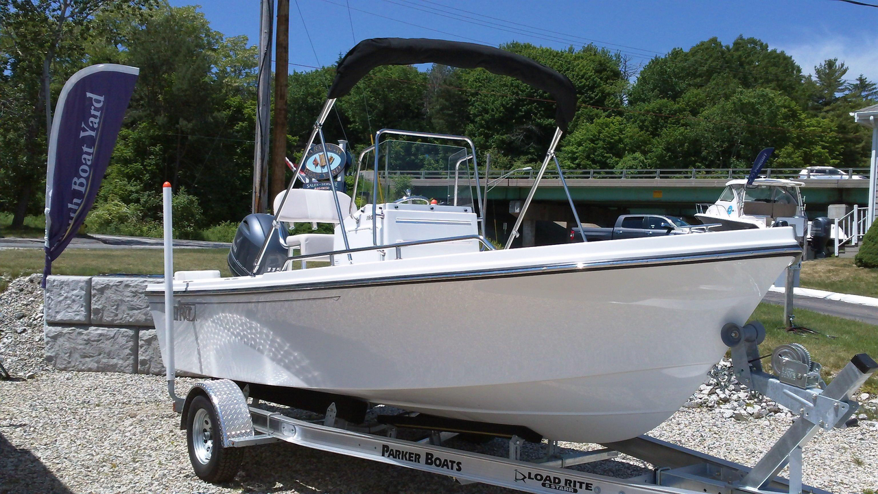 2016 new parker 1801 center console saltwater fishing boat for Fishing boat dealers near me