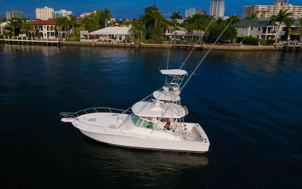 Used Luhrs 40 Open Saltwater Fishing Boat For Sale