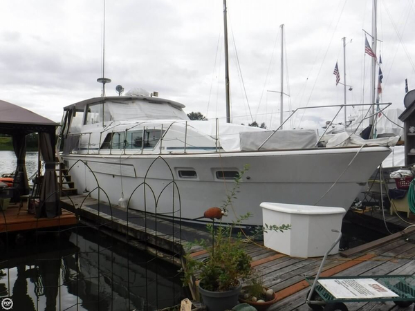 Used Chris-Craft 45 Commander MY Aft Cabin Boat For Sale