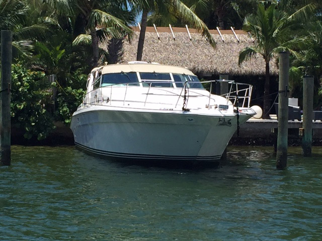1995 used sea ray sundancer motor yacht for sale 59 000 for Used motor yachts for sale in florida
