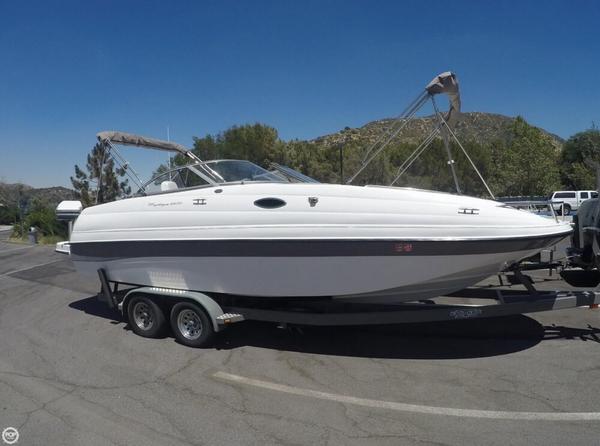 Used Ebbtide Mystique 2400 Fun Cruiser Deck Boat For Sale