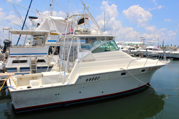 Used Luhrs 340 Repowered Sports Fishing Boat For Sale