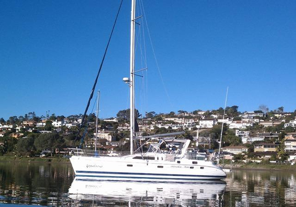 Used Hunter 450 Passage Center Cockpit Sailboat For Sale