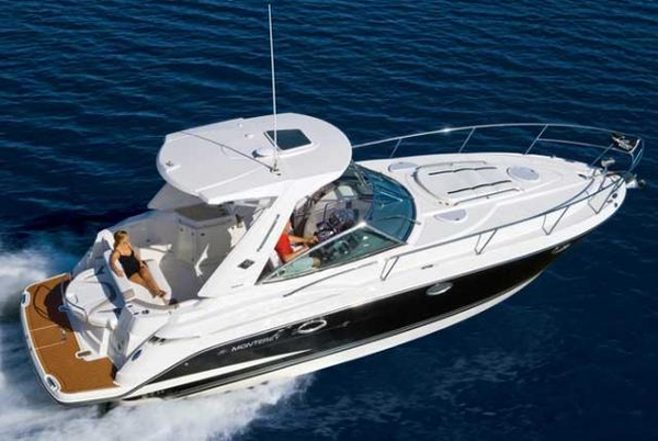 Used Monterey 340 Sport Yacht Sports Cruiser Boat For Sale