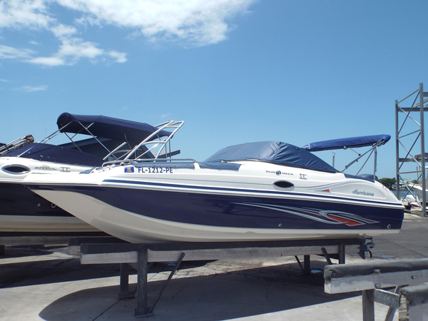 Used Hurricane Sundeck 217 OB Bowrider Boat For Sale