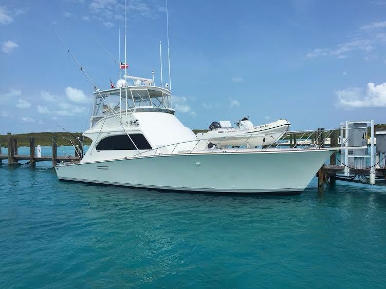 1994 used post marine sport fisherman sports fishing boat for Sport fishing boats for sale by owner