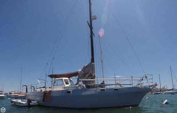 Used Yorktown 40 Motorsailer Sailboat For Sale