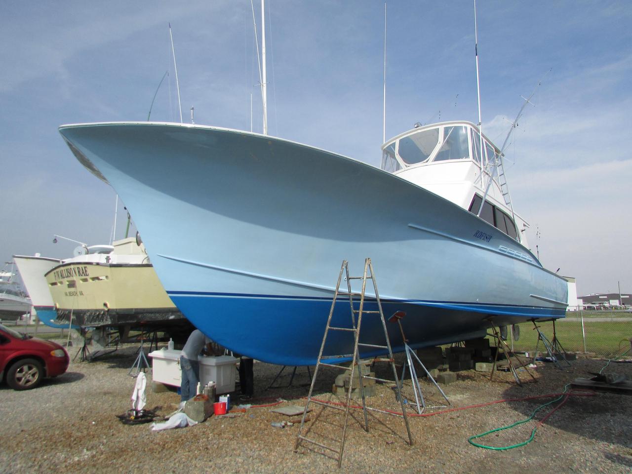 1987 used sullivan carolina custom sportfish sports for Custom fishing boats