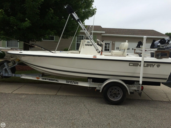 Used Century Inshore 1902 Center Console Fishing Boat For Sale