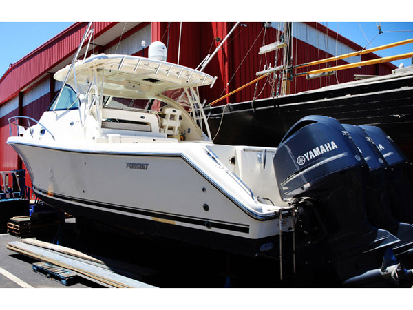 Used Pursuit 375 Offshore Bluewater Fishing Boat For Sale