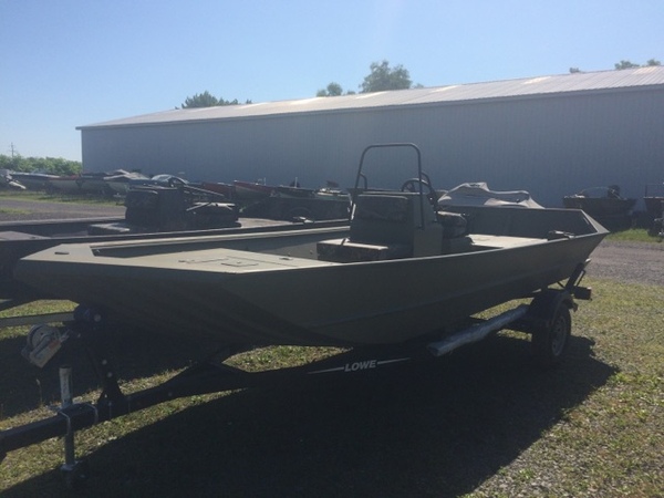 New Lowe Roughneck 1860 Tunnel Jet Jon Boat For Sale