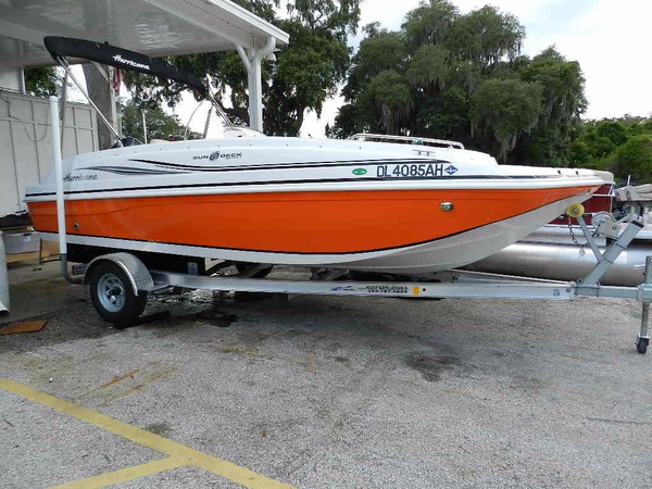 Used Hurricane SS-188 Deck Boat For Sale