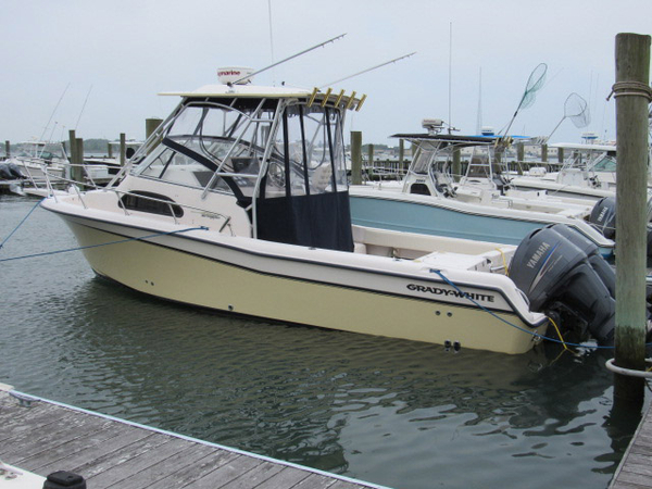 Used Grady White 282 Sailfish Bluewater Fishing Boat For Sale