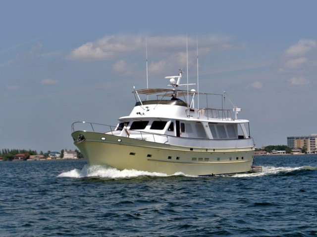 1986 Used Cheoy Lee 66 Long Range Motor Yacht For Sale