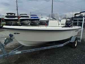 Used American Boat Corp American Skiff CORAL BAY 165cc Center Console Fishing Boat For Sale