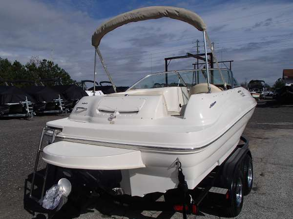 2002 Used Sea Ray 190 Sundeck Deck Boat For Sale