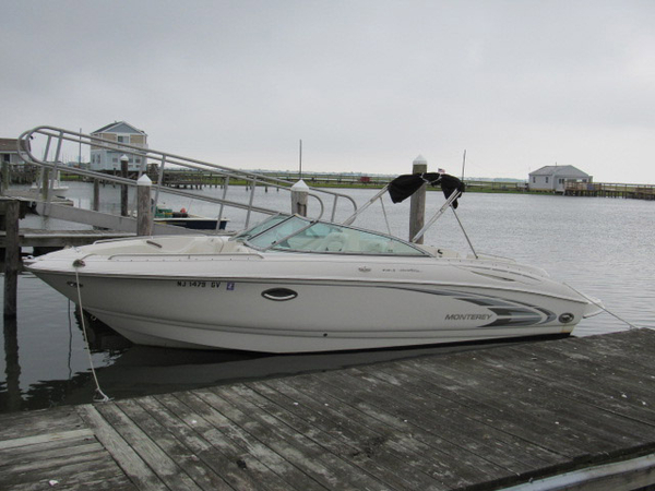 Used Monterey 248 LS bow rider Bowrider Boat For Sale