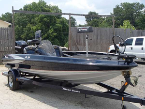 Used Triton Boats 18X2 Bass Boat For Sale