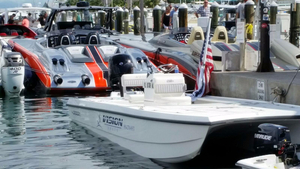 New Vision Lynx 20 Custom Cat Center Console Fishing Boat For Sale