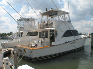 Used Ocean 46 Convertible Sportfish Saltwater Fishing Boat For Sale