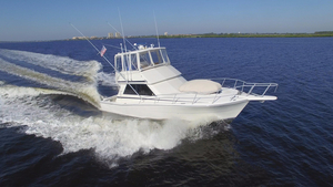 Used Viking Boats 38 Convertible Fishing Boat For Sale