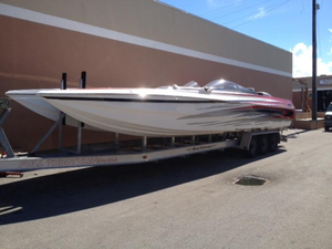 Used Motion Marine 35 High Performance Boat For Sale