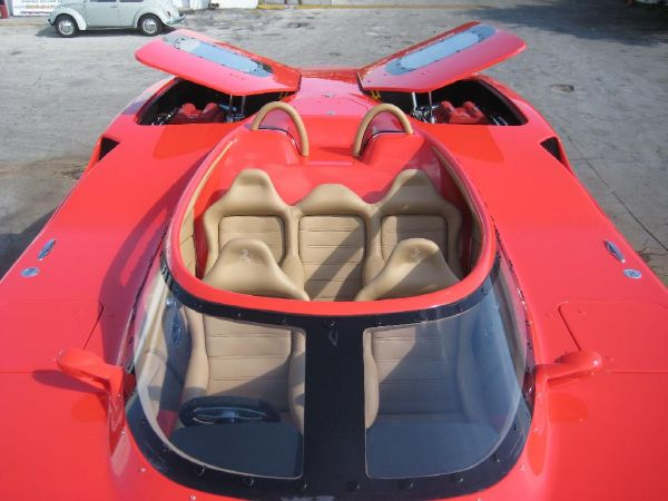 Used Mti 44RP F440 (Ferrari Theme Boat) High Performance Boat For Sale