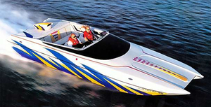 Used Advantage 28 Sport Cat Runabout Boat For Sale