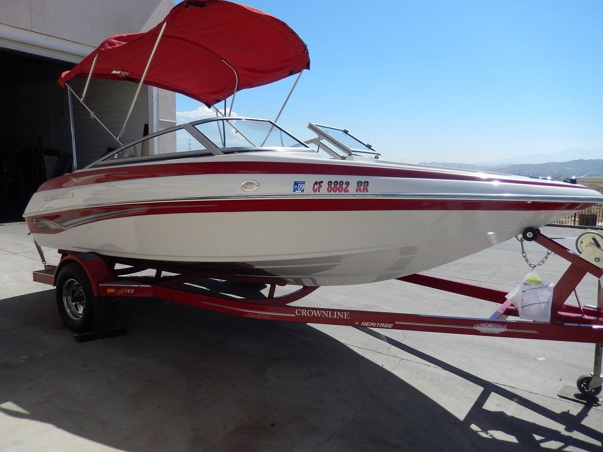 2008 Used Crownline 180 Bowrider Boat For Sale - $17,550 ...