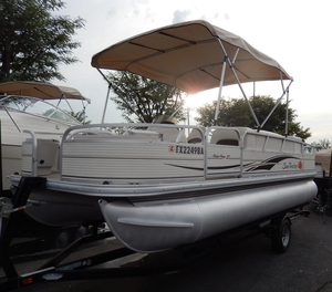 Used Suntracker 21 Fishing Barge Pontoon Boat For Sale