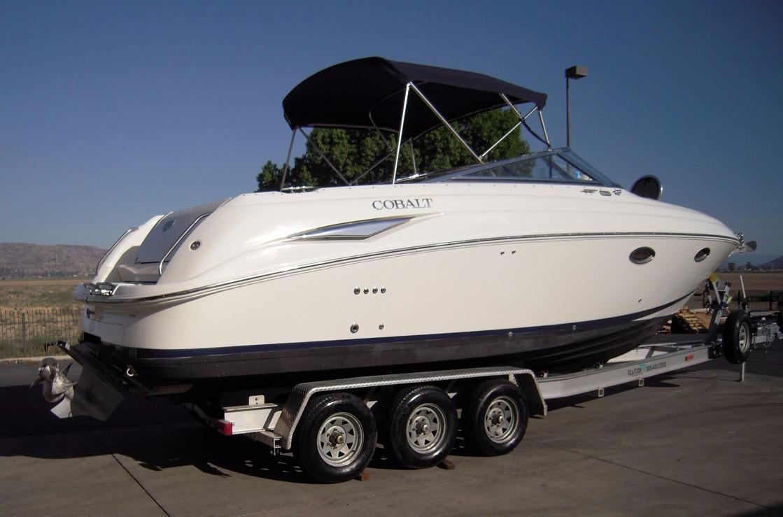 1998 used cobalt 293293 cuddy cabin boat for sale