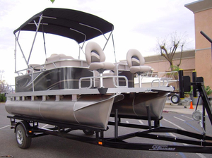 New Qwest Edge 7516 Sport Cruise Pontoon Boat For Sale