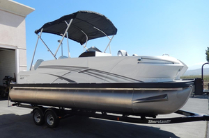 New Escape RT 2400 Fish/Cruise Twin Pontoon Boat For Sale