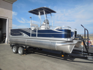 New Angler Qwest 820 Fish820 Fish Pontoon Boat For Sale
