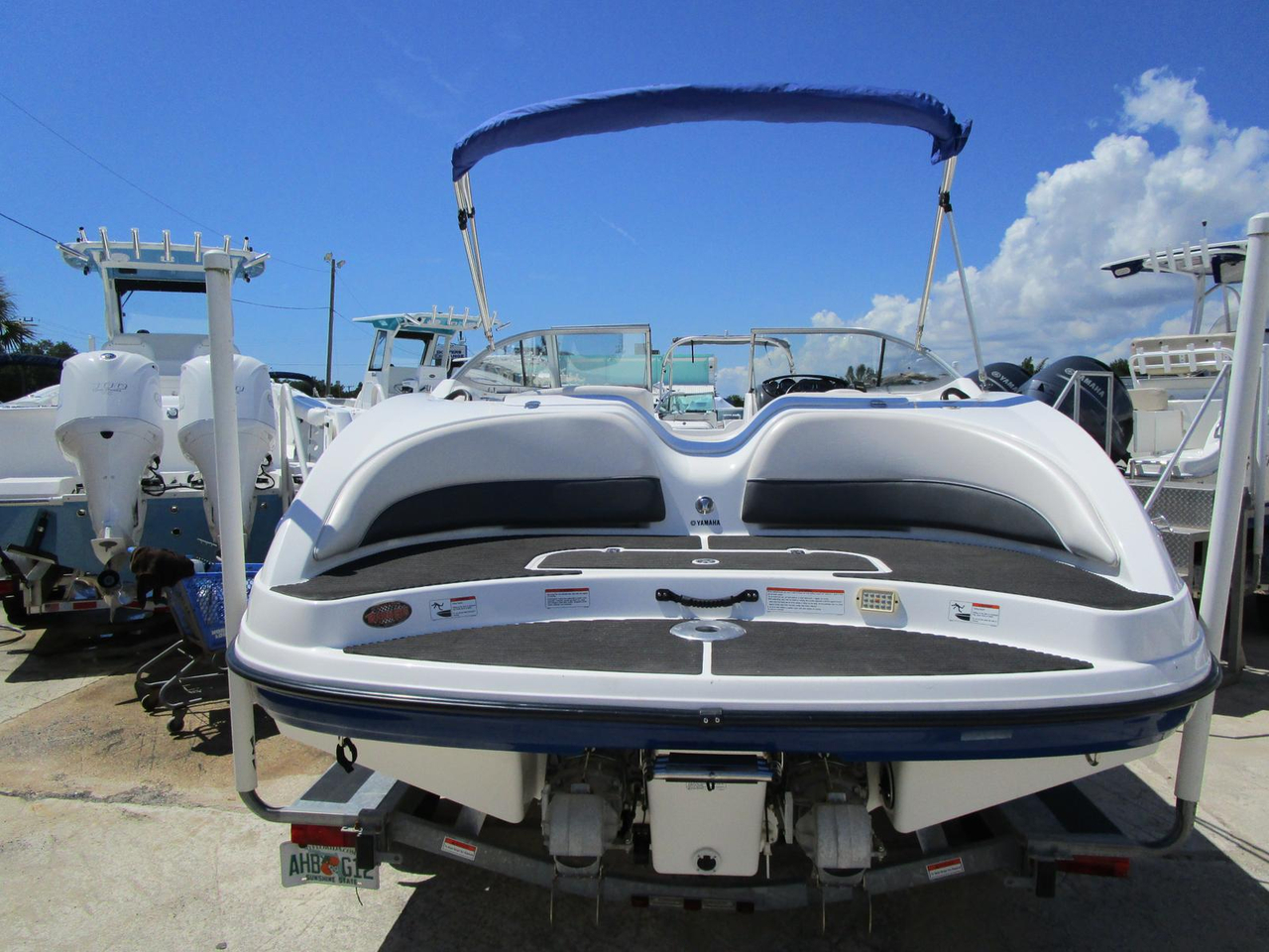 2006 used yamaha sx 210 jet boat for sale 17 495 for Yamaha jet boat for sale florida
