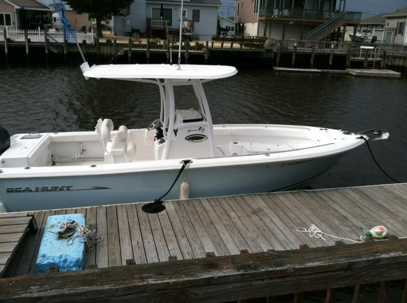 2013 used sea hunt 25 center console fishing boat for sale for Fishing boats for sale nj