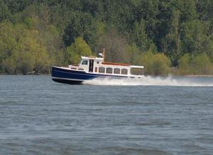 Used Schooner Creed Boat Works Flush Deck Passenger Launch Commercial Boat For Sale