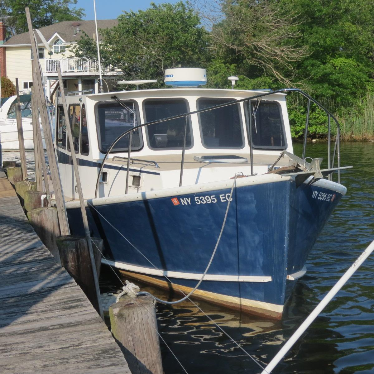 2001 used b d south shore downeast cruiser downeast for Fishing boat dealers near me