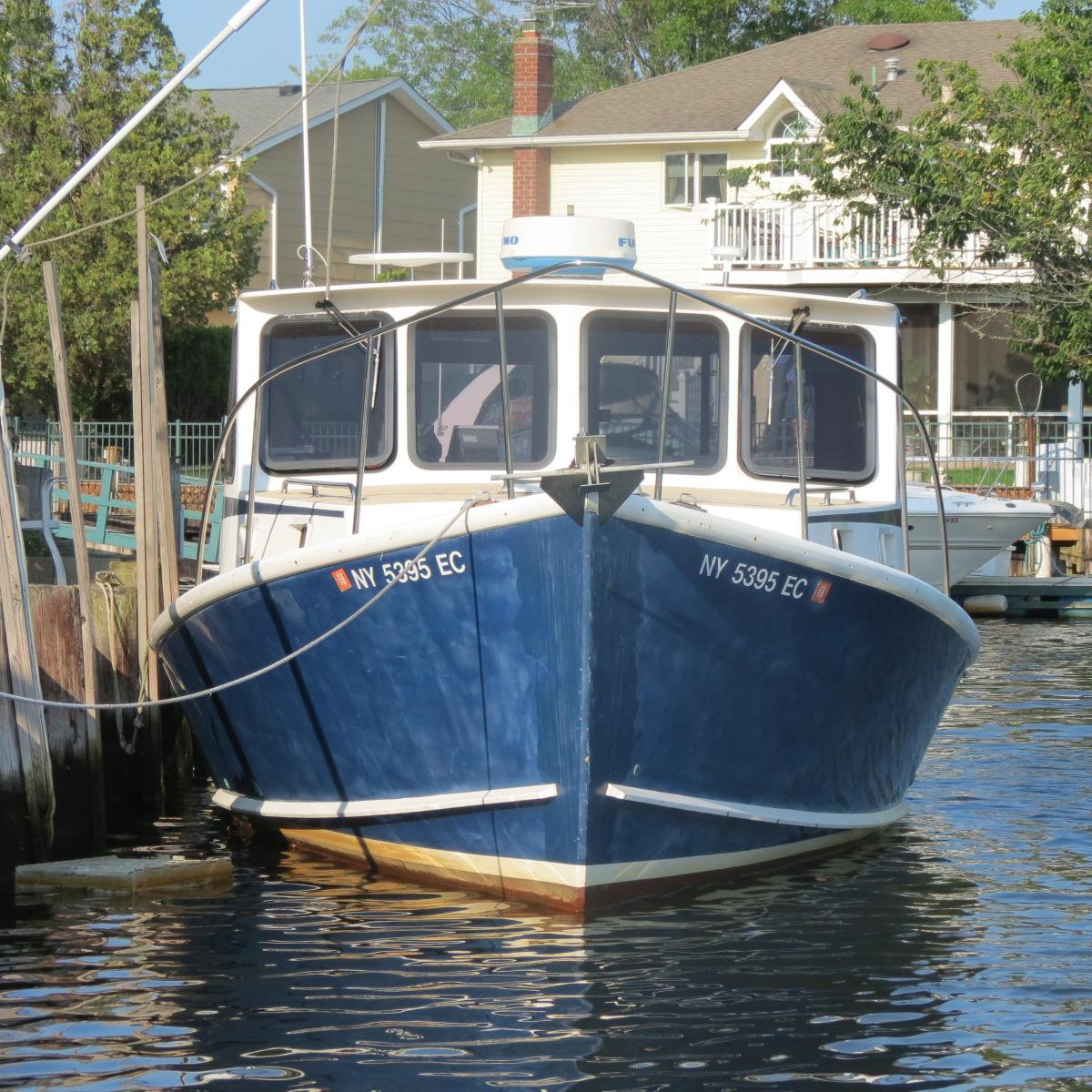2001 used b d south shore downeast cruiser downeast for Fishing boats ny
