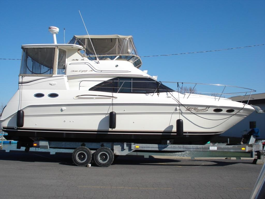 2001 used sea ray 380 aft cabin motor yacht for sale for Sea ray motor yacht for sale