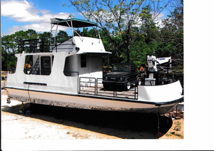 Used Atlantic Shipyard Inc. Open Deck Work Boat Commercial Boat For Sale