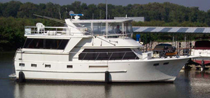 Used Defever POC Motor Yacht Flybridge Boat For Sale