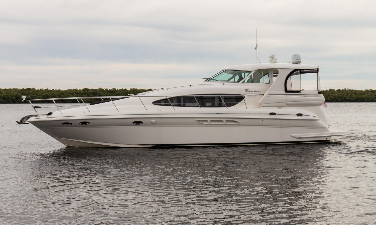 2004 used sea ray 480 motor yacht motor yacht for sale